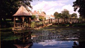 Oak Bridge and oak framed