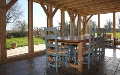 The Joy of Owning a Green Oak Conservatory