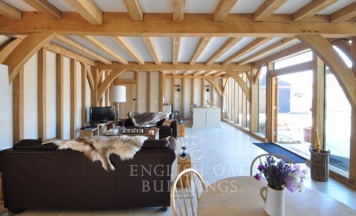 oak framed cottage garden room