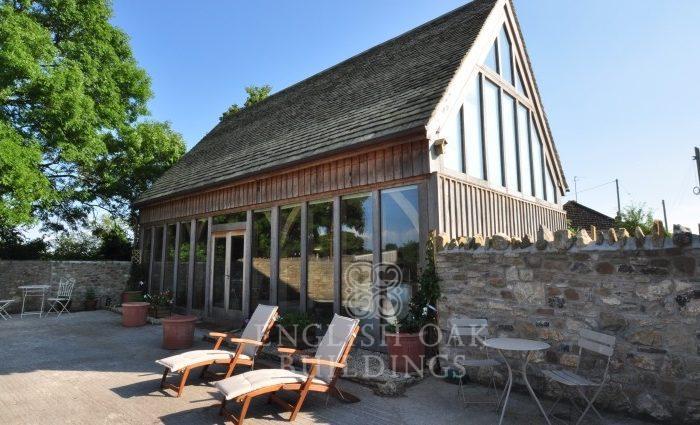 Great Elm Oak garden room, annex accommodation