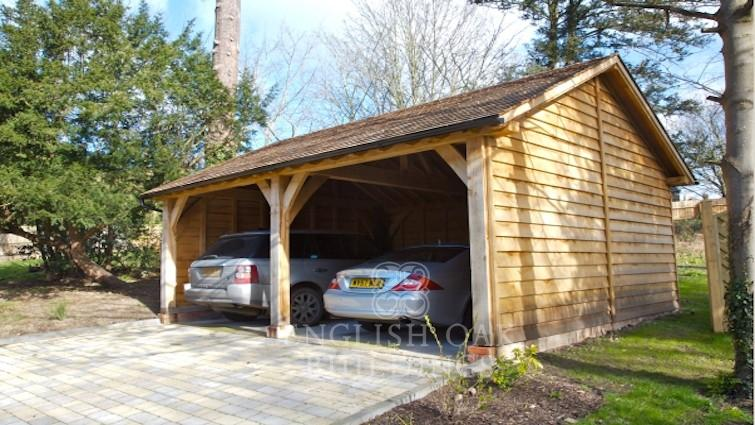 Invest in an Aesthetically Pleasing Oak Garage