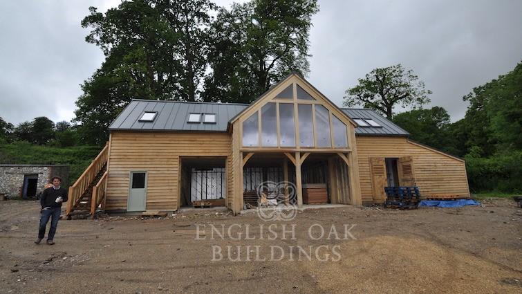 Large Garages Amp Barns English Oak Buildings