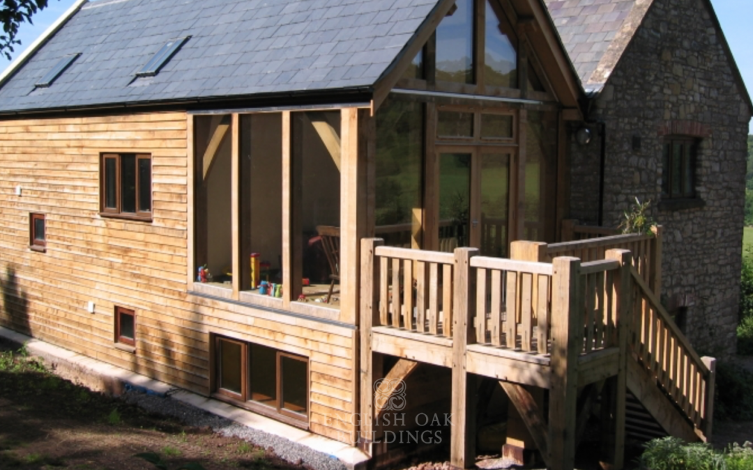 Bling up your self-build – add an oak balcony