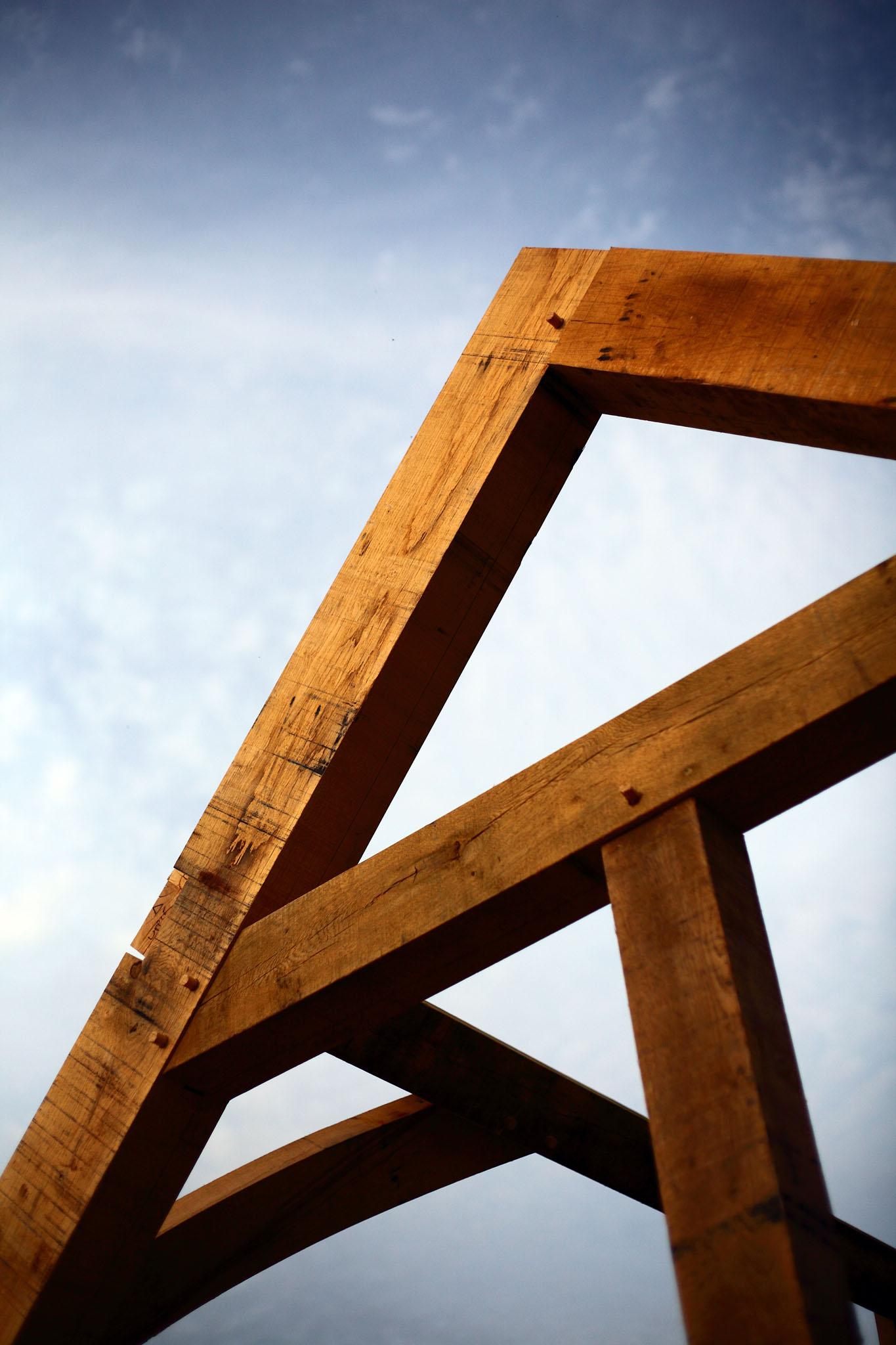 oak truss