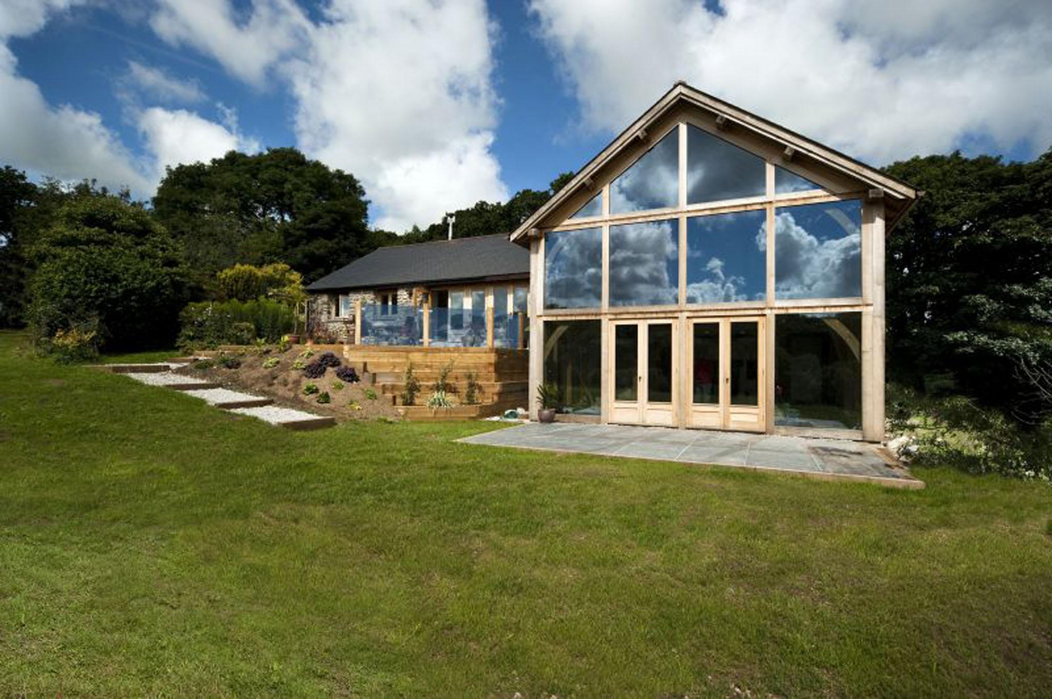 Oak framed House - Menkea - Cornwall