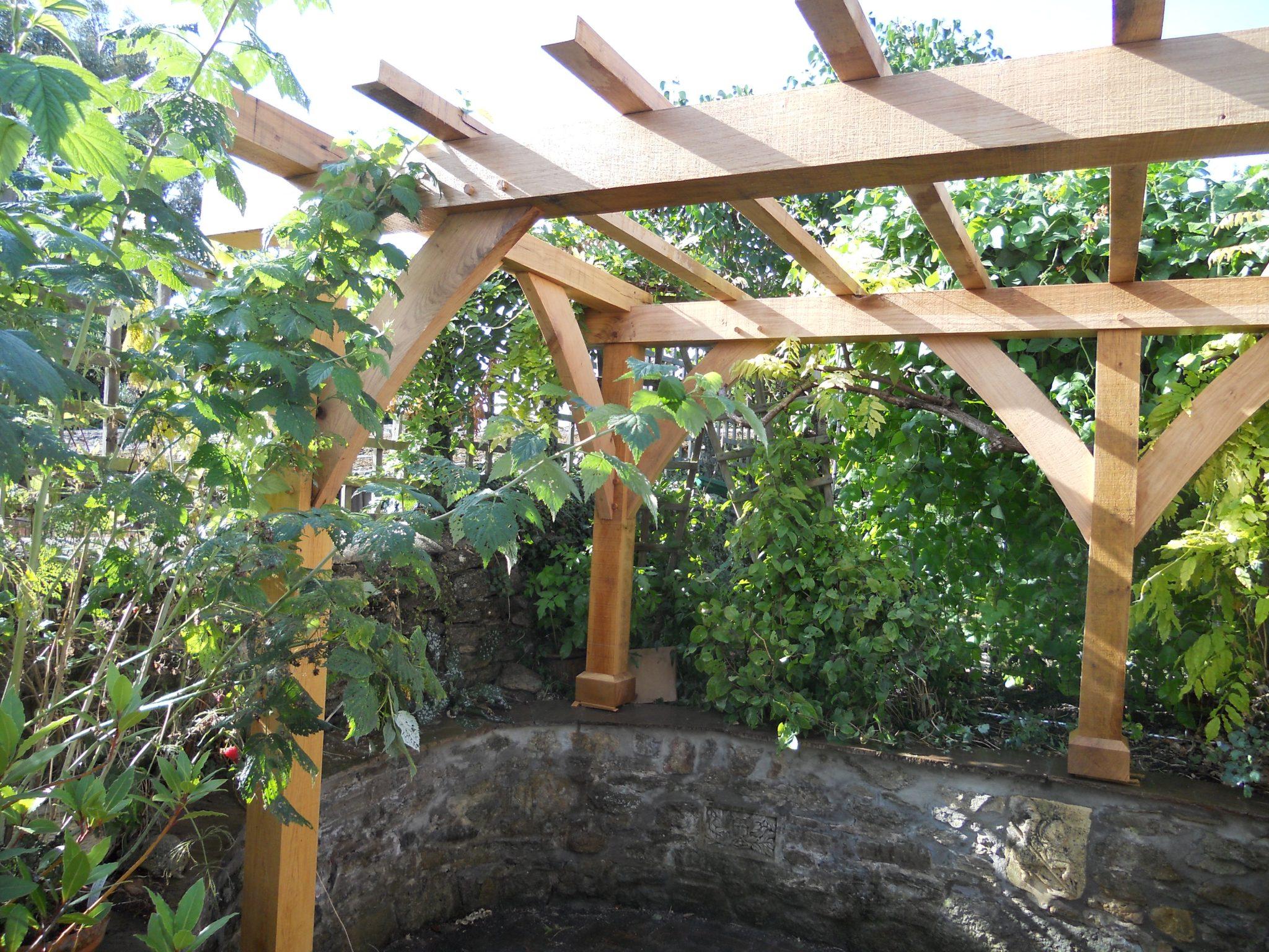 oak pergola - Somerset