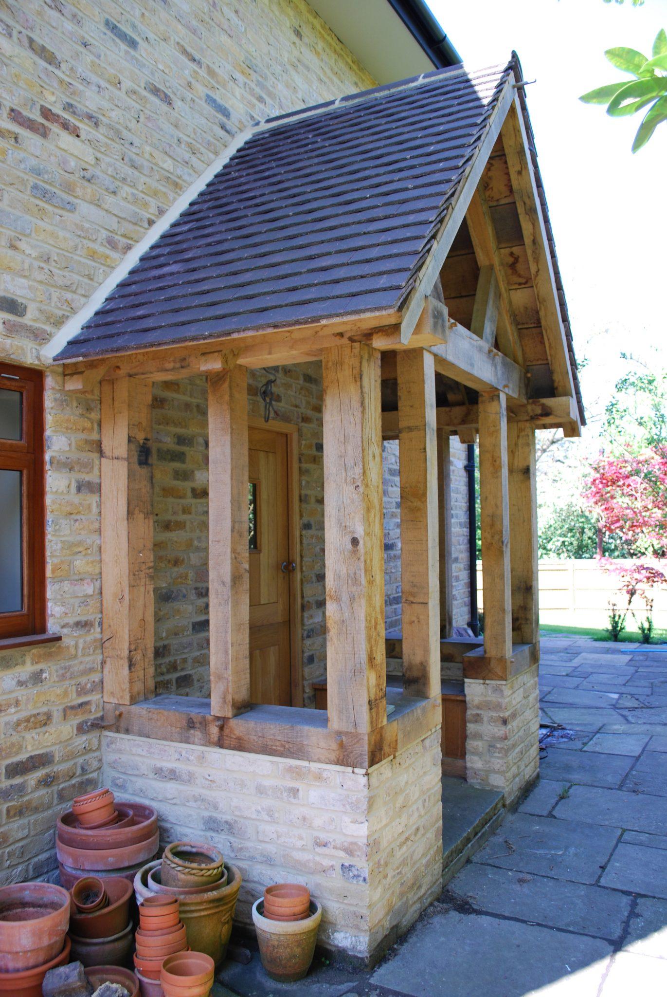 Oak framed Porch - Spooner - Ascott