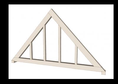 Tie-beam Truss with Glazing Studs