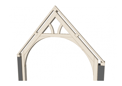 Arch-Brace Truss